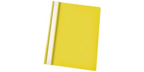 Hechtmap Economy A4 PP geel-Ds 25