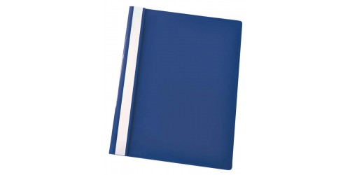Hechtmap Economy A4 PP blauw-Ds25