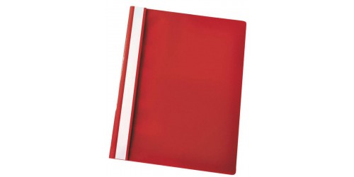 Hechtmap Economy A4 PP rood-Ds 25