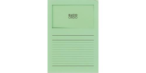 Dossiermap Elco Ordo groen bedrukt
