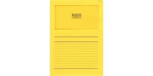 Dossiermap Elco int. geel bedrukt
