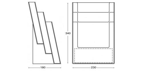 Display A4/3 - 3C230