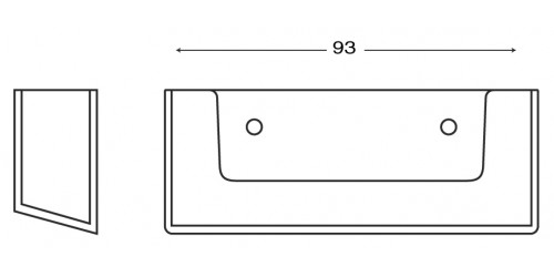 Display visitekaartjes (BC93)