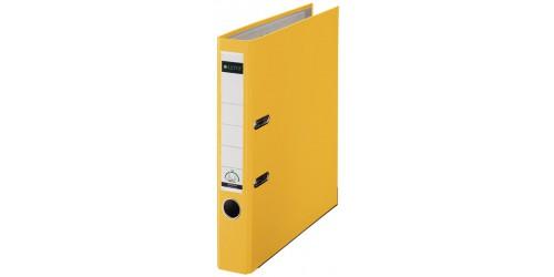 Sleufclas. Leitz 1015 A4/52 geel