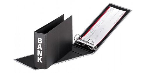Quadro Bankordner zwart 250x140x50