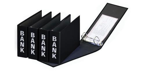 Basic Colours Bankordner zwart