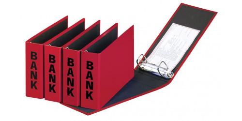 Basic Colours Bankordner rood