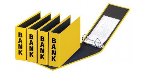 Basic Colours Bankordner geel