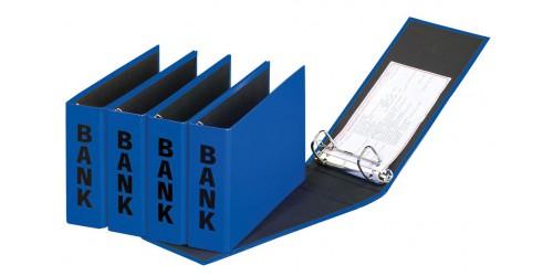 Basic Colours Bankordner blauw