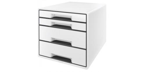Wow Desk cube 4 laden wit