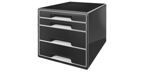 Wow Desk cube 4 laden zwart