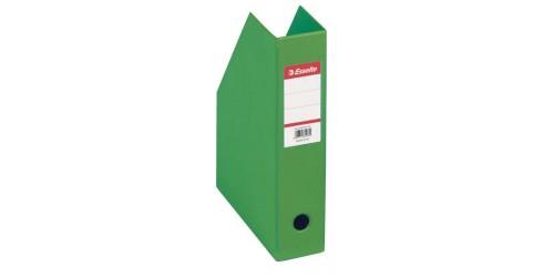 Tijdschriftencassette A4 PVC groen