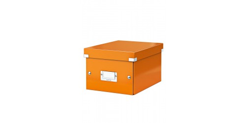 Leitz Click & Store A5 doos oranje