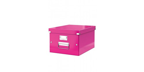 Leitz Click & Store A4 doos roze