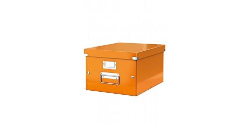 Leitz Click & Store A4 doos oranje