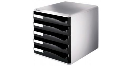 Leitz box 5 laden zwart