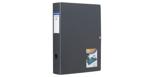 Klasseerdoos Polybox 60 mm zwart