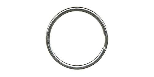 Metalen sleutelring 25 mm