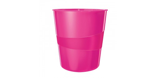 Esselte WOW papiermand 15l roze