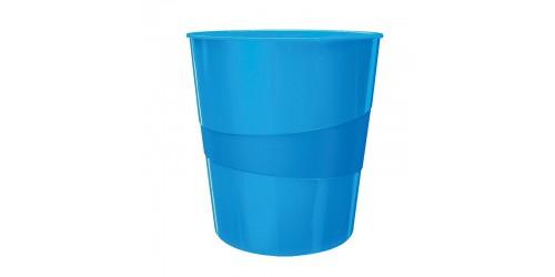 Esselte WOW papiermand 15l blauw