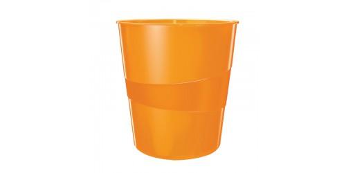 Esselte WOW papiermand 15l oranje