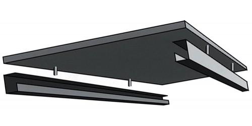 Inbouwset voor AZV  120 cm