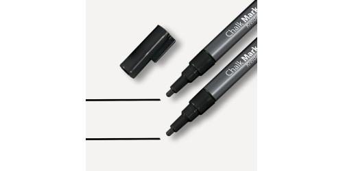 Sigel Krijtmaker zwart 1-2mm afwas