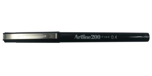 Stift Artline 200 zwart