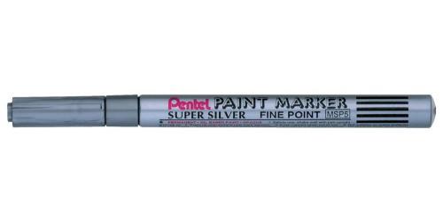 Pentel Paint Marker zilver