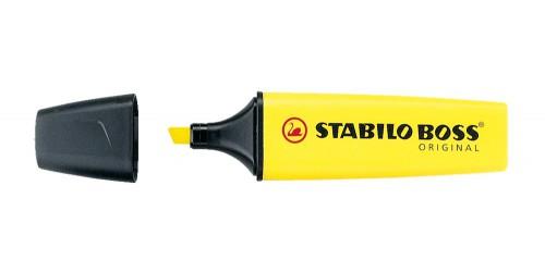 Stift Stabilo Boss geel