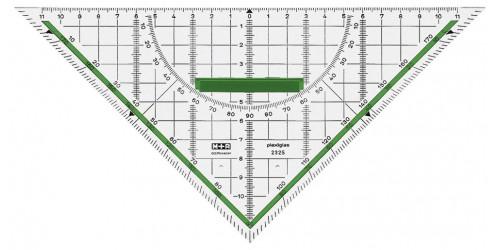 Geo driehoek 22 cm
