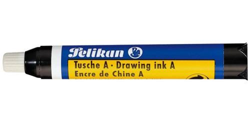 Oostind. inkt Pelikan 9 ml zwart