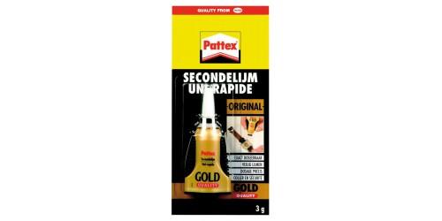 Pattex secondelijm Gold 3g