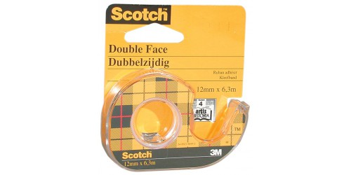 Rol double coated Scotch 665 12x6