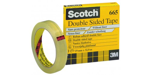 Rol double coated Scotch 665 12x33