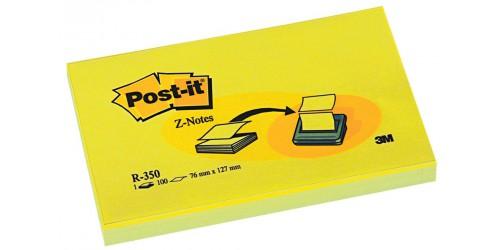 Post-it Z-notes geel 76x127mm R350