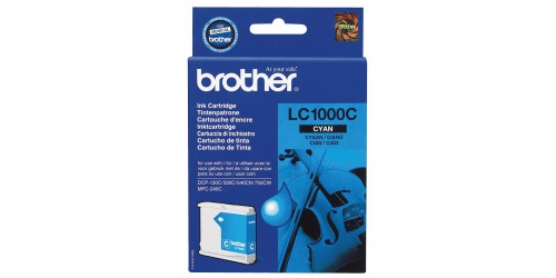 Brother cartridge cyan LC1000C