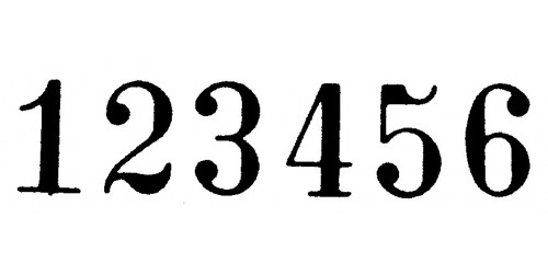 Numeroteur 5,5 mm (B655A)