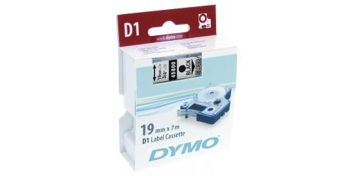 Tape Dymo zw/transp. 19 mm - 45800