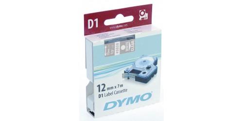 Tape Dymo wit/transp. 12mm - 45020