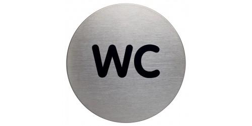 Pictogram WC diam. 83 mm 490723