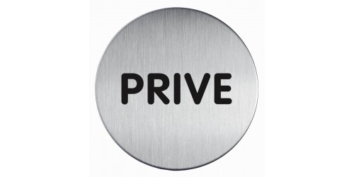 Pictogram Prive Diam. 83 mm 491268