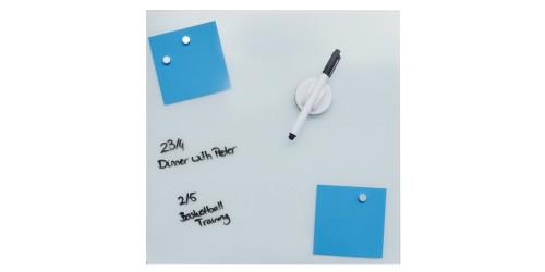 Desq Magnetisch glasbord wit