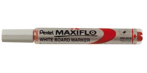 Witbordstift Maxiflo rood Fijn