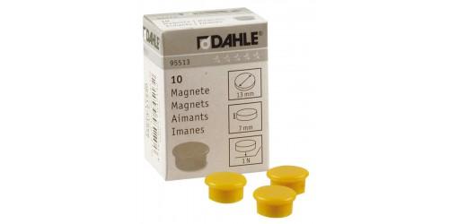 Magneet Dahle diam. 13 mm geel