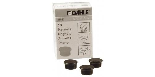 Magneet Dahle diam. 13 mm zwart