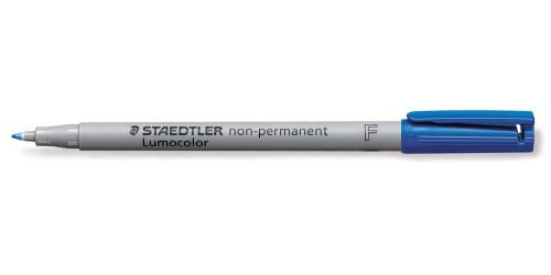 Stift OHP blauw nonperman. (F-316)