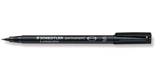 Stift OHP zwart permanent (S-313)