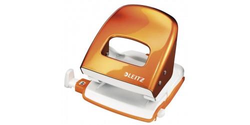 Leitz perforator 5008 oranje metal