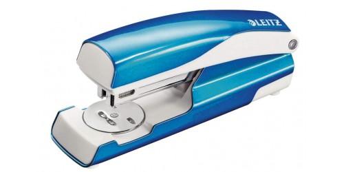 Leitz nietmachine 5502 blauw metal